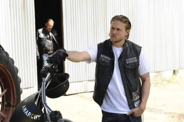 Charlie Hunnam as Jackson 'Jax' Teller Sons Of Anarchy