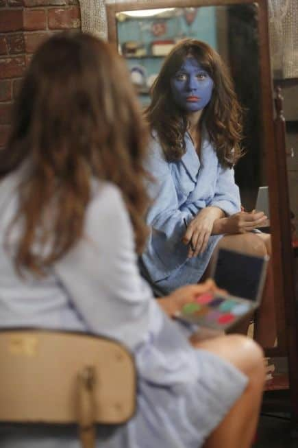 NEW GIRL: Jess (Zooey Deschanel) will try anything to impress Nick