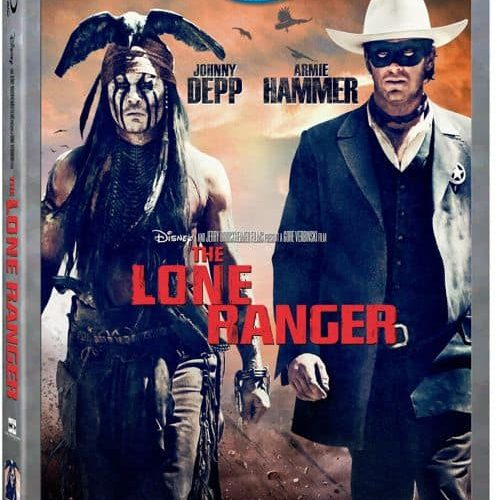 THE LONE RANGER DVD BLURAY