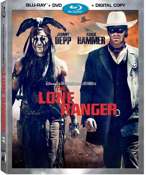 THE LONE RANGER DVD BLURAY