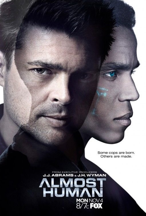 ALMOST HUMAN Poster Karl Urban