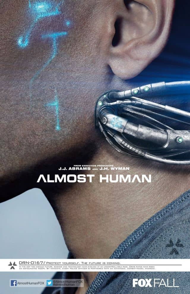 ALMOST HUMAN Poster FOX