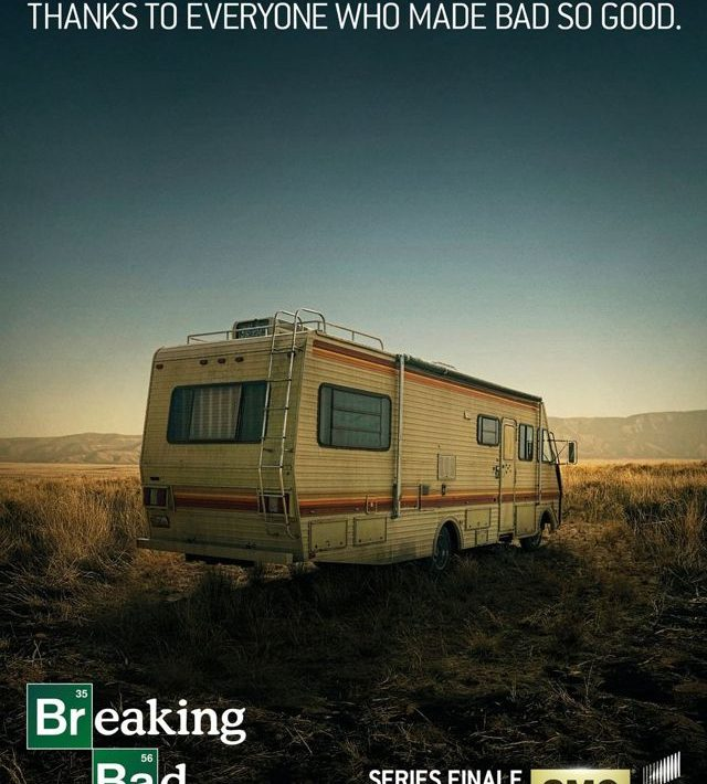 Breaking Bad Farewell Poster