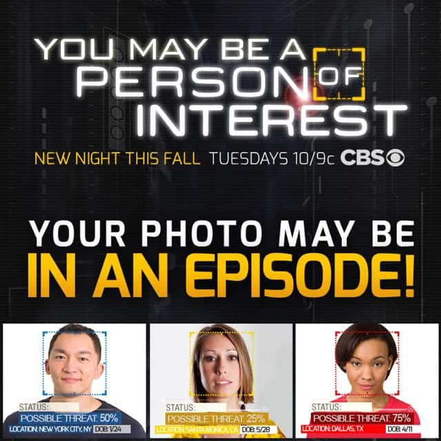 PERSON OF INTEREST Facebook App