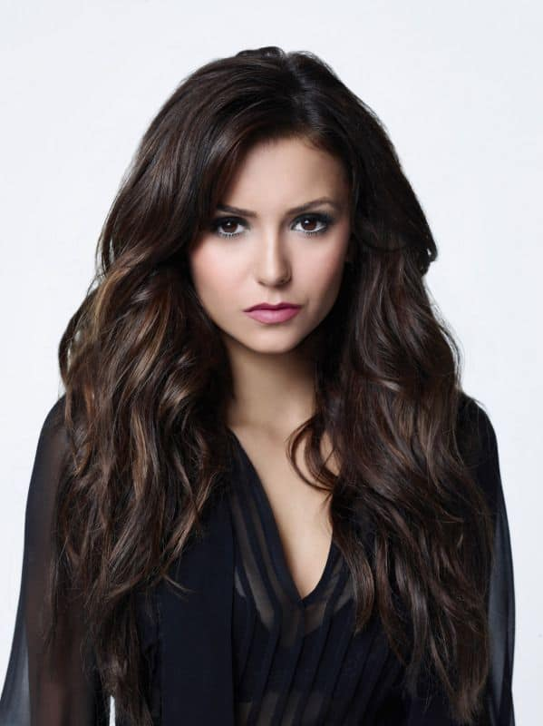 Nina Dobrev as Elena The Vampire Diaries