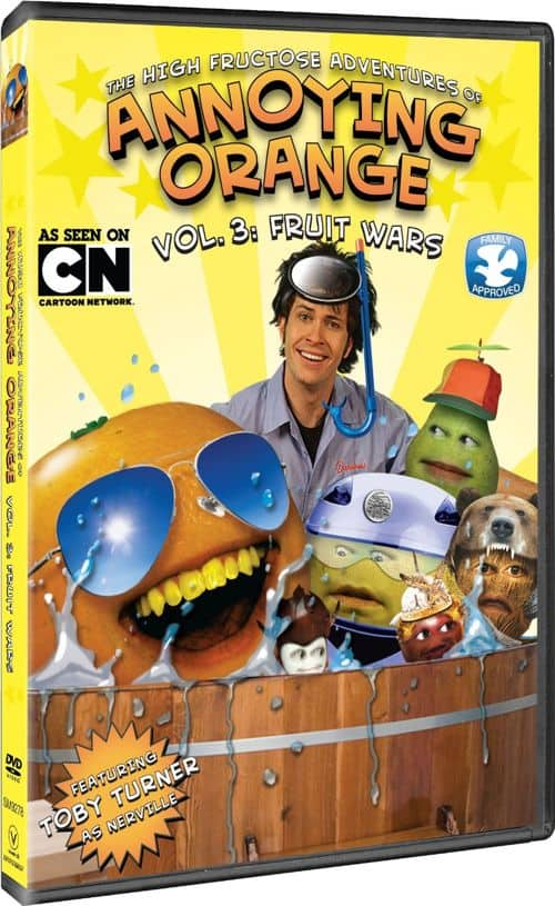 THE HIGH FRUCTOSE ADVENTURES OF ANNOYING ORANGE Volume 3 DVD