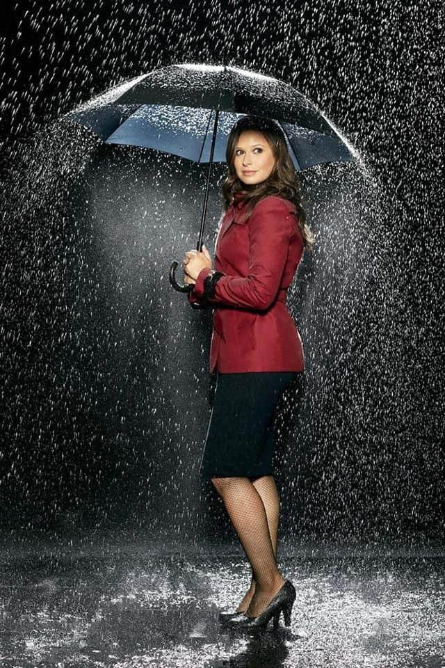 Katie Lowes as Quinn Perkins Scandal