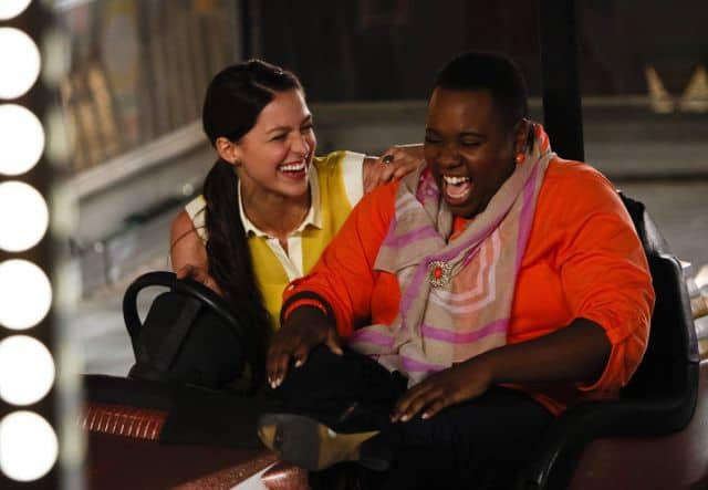 Marley (Melissa Benoist) and Unique (Alex Newell) Glee Season 5 Episode 1