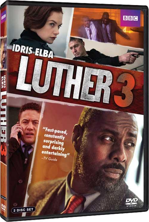 Luther Season 3 DVD