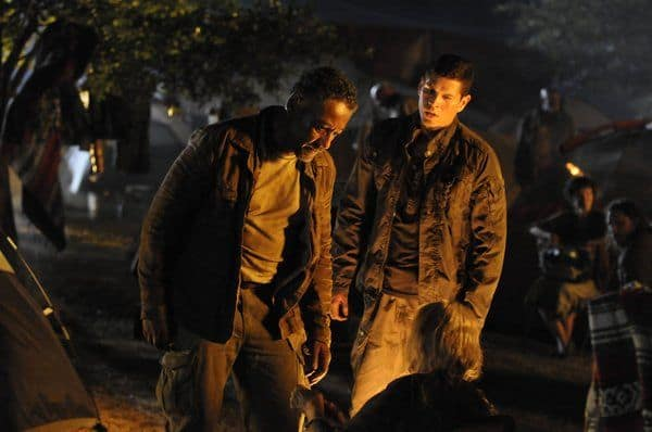 Giancarlo Esposito as Captain Tom Neville, JD Pardo as Jason Neville Revolution Season 2