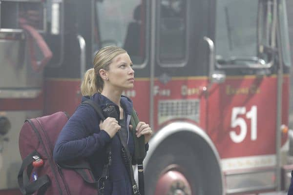 Lauren German as Leslie Shay Chicago Fire - Season 2