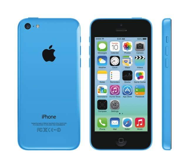 Apple iPhone 5c Blue