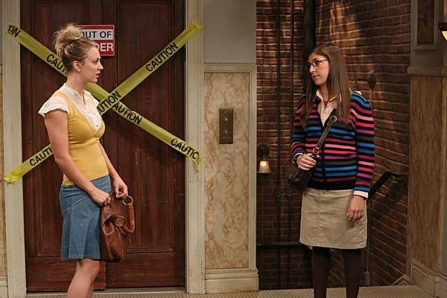 Kaley Cuoco and Mayim Bialik The Big Bang Theory The Deception Verification