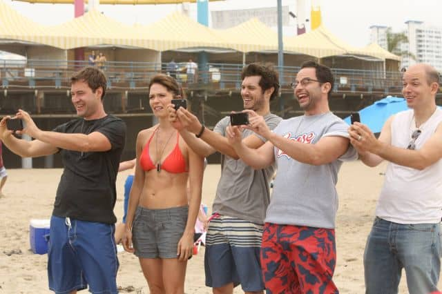 Mark Duplass as Pete, Katie Aselton as Jenny, Adam Brody as Ted, Nick Kroll as Ruxin, Paul Scheer as Andre The League