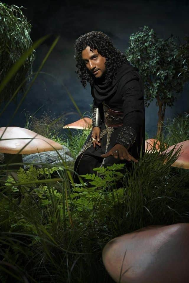 Naveen Andrews as Jafar Once Upon A Time In Wonderland