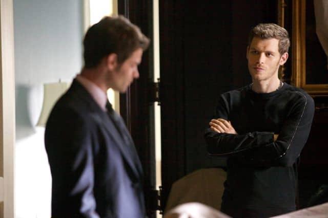 Daniel Gillies as Elijah and Joseph Morgan as Klaus The Originals