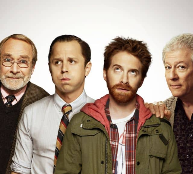 Martin Mull, Giovanni Ribisi, Seth Green and Peter Riegert Dads FOX Cast