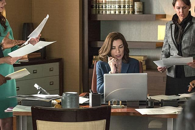 Alicia (Julianna Margulies) The Good Wife Season 5