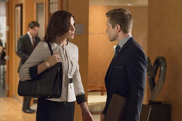 Alicia (Julianna Margulies) Cary (Matt Czuchry) The Good Wife Season 5