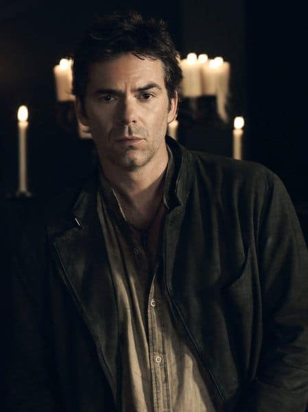 REVOLUTION -- Season: 2 -- Billy Burke as Miles Matheson -- (Photo by: Nino Munoz/NBC)