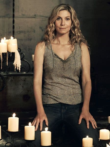 REVOLUTION -- Season: 2 -- Pictured: Elizabeth Mitchell as Rachel Matheson -- (Photo by: Nino Munoz/NBC)