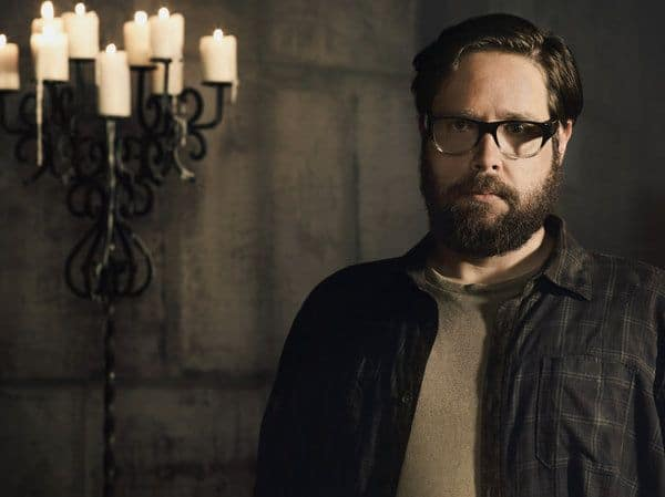 REVOLUTION -- Season: 2 -- Pictured: Zak Orth as Aaron Pittman -- (Photo by: Nino Munoz/NBC)