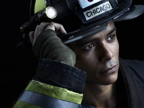 Charlie Barnett as Peter Mills Chicago Fire Season 2