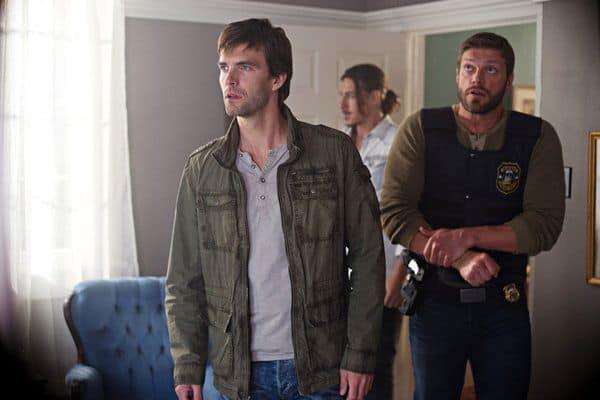 Adam Copeland as Dwight Hendrickson, Lucas Bryant as Nathan Wuornos Haven Season 4