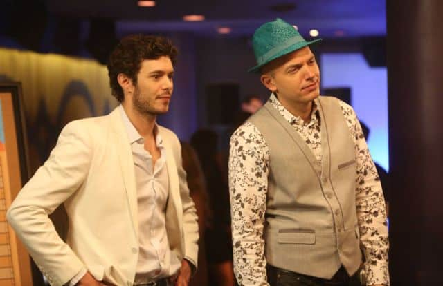 Adam Brody as Ted, Paul Scheer as Andre The League