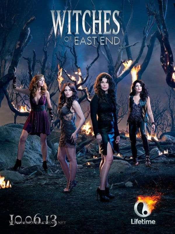 WITCHES OF EAST END Poster : Rachel Boston, Julia Ormond, Jenna Dewan Tatum, Mädchen Amick