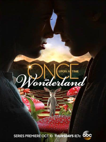 Once Upon A Time In Wonderland Poster