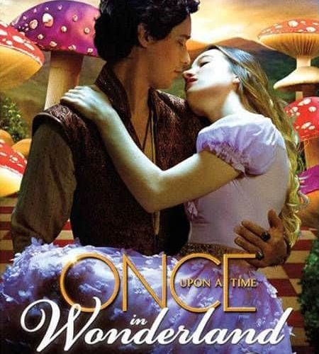 Once Upon A Time In Wonderland Poster ABC