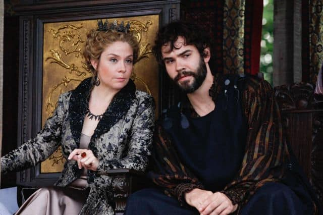 Megan Follows as Queen Catherine and Rossif Sutherland as Nostradamus Reign Hearts and Minds