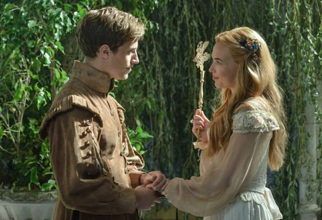 Jonathan Keltz as Leith and Celina Sinden as Greer Reign Hearts and Minds