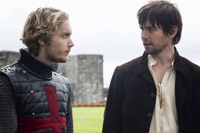 Toby Regbo as Prince Francis and Torrance Coombs as Bash Reign Hearts and Minds