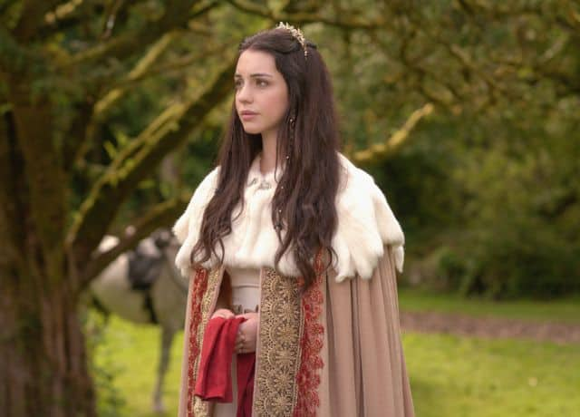Adelaide Kane as Mary, Queen of Scots Reign Kisses
