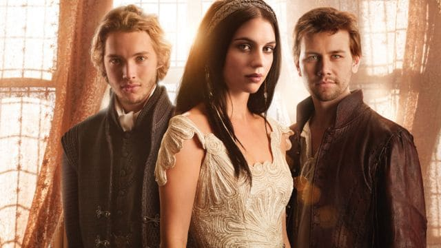Reign Cast The CW Toby Regbo as Prince Francis, Adelaide Kane as Mary, Queen of Scots, and Torrance Coombs as Bash