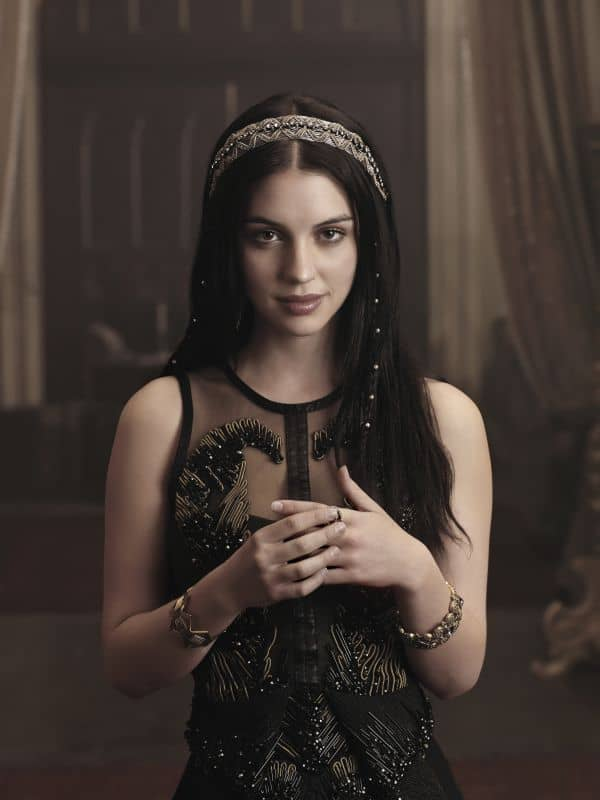 Adelaide Kane as Mary, Queen of Scots REIGN