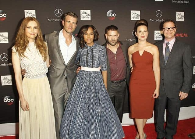 DARBY STANCHFIELD, SCOTT FOLEY, SHONDA RHIMES, KERRY WASHINGTON, GUILLERMO DIAZ, KATIE LOWES, JOSHUA MALINA