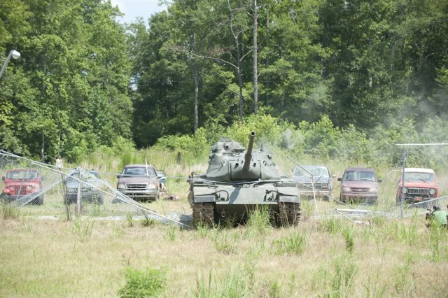 Tank - The Walking Dead _ Season 4, Episode 8 - Photo Credit: Gene Page/AMC