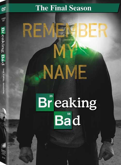 Breaking Bad Final Season DVD