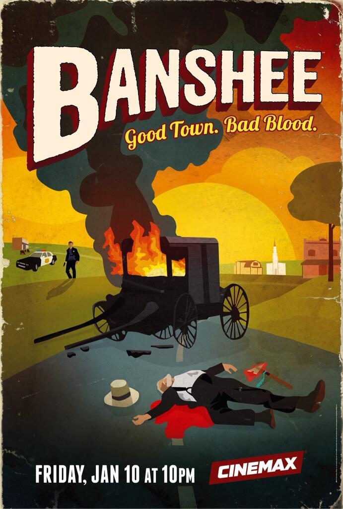 BANSHEE Season 2 Poster Cinemax