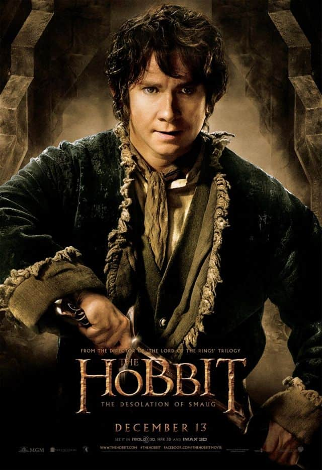 Martin Freeman The Hobbit The Desolation Of Smaug Poster