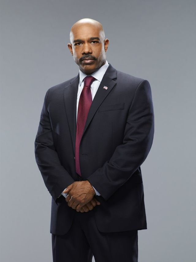 CRISIS Michael Beach as FBI Director Olsen