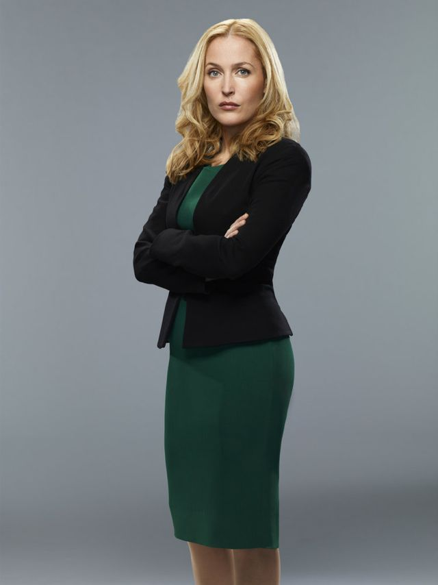 CRISIS Gillian Anderson as Meg Fitch