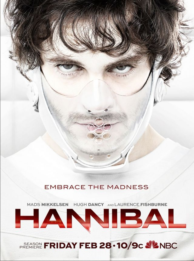 HANNIBAL Season 2 Poster Hugh Dancy