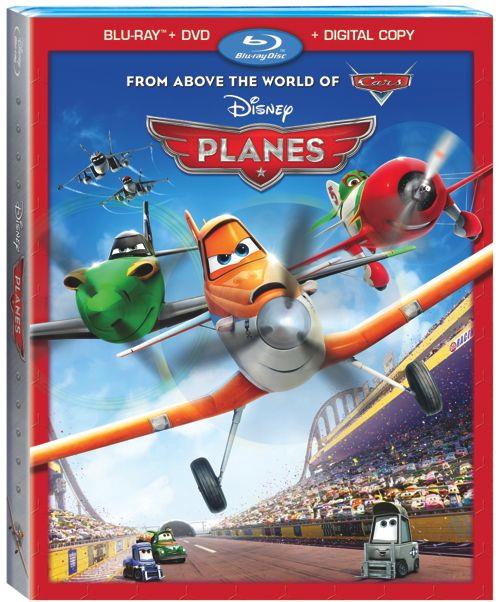Planes Bluray DVD