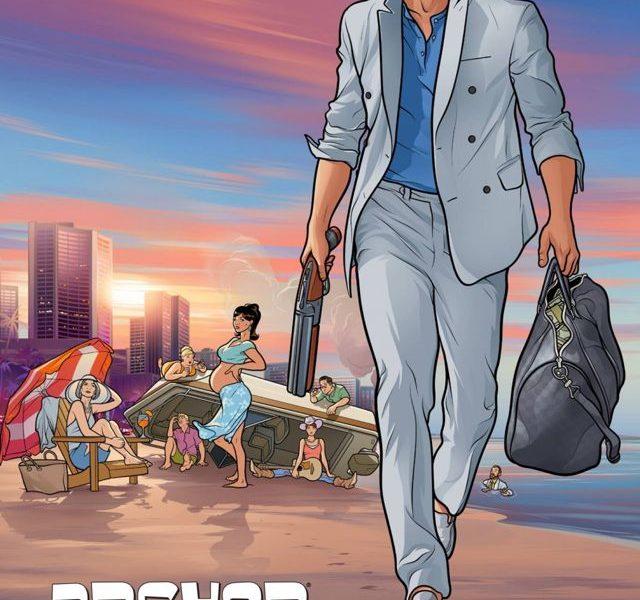 ARCHER Season 5 Poster