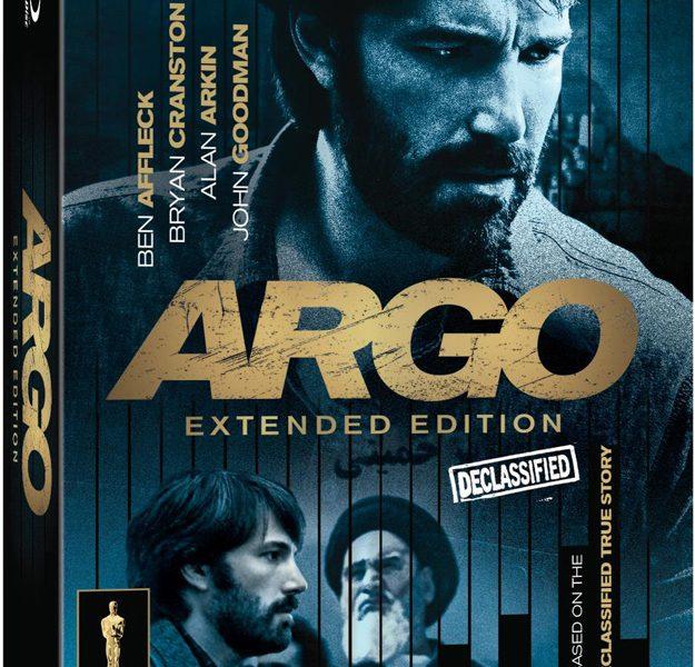 Argo Extended Edition Bluray