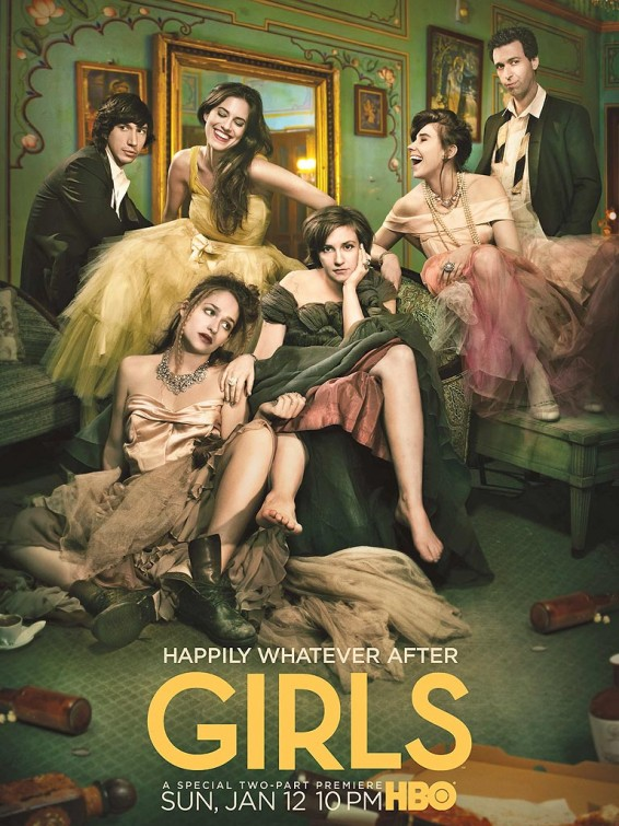 GIRLS Season 3 Poster